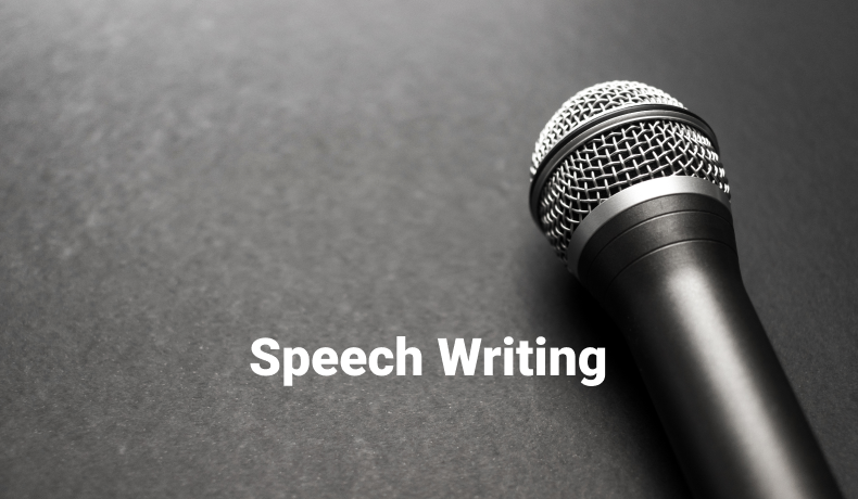 Speech Writing ‒ How to Become a Perfect Speaker