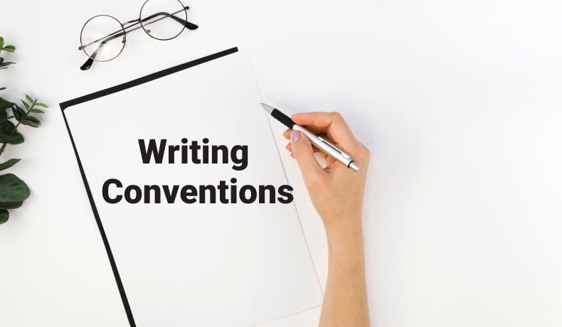 Write Conventions And Improve The Quality Of Paper